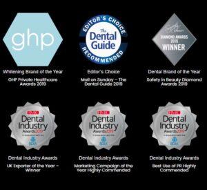 teeth whitening awards